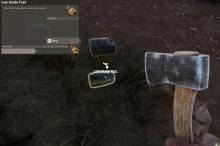 Где взять low grade fuel в Rust