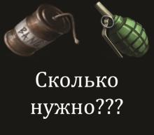 Rust сколько нужно гранат